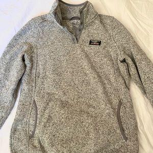 L.L. Bean Women's 1/4 Snap Sweater Fleece